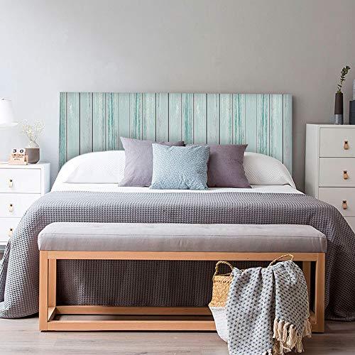 setecientosgramos Cabecero Cama PVC   LigthBlue   Varias Medidas   Fácil colocación   Decoración Dormitorio (150x60cm)