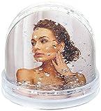 ZEP PG122 Photo Globe Glitter Transparenter Kunststoff, 6,2 x 6,5 cm