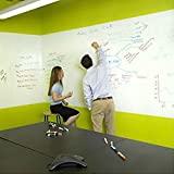 Coavas PVC DIY White Board Stickers Stationary Meno for Meeting and Working 45*200cm With 1pc Marker Pen by Coavas