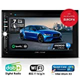 Autoradio Android CREATONE AMG-3030 | 2DIN Naviceiver | GPS Navigation (aktuelle Europa-Karten mit Radarwarnungen) | DAB+ DigitalRadio | DVD-Player |...