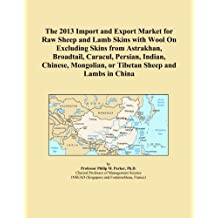 The 2013 Import and Export Market for Raw Sheep and Lamb Skins with Wool On Excluding Skins from Astrakhan, Broadtail, Caracul, Persian, Indian, Chinese, Mongolian, or Tibetan Sheep and Lambs in China
