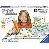 """tiptoi® Starter-Set Mein großer Weltatlas: Das audiodigitale Lernsystem für Bücher und Spiele. Dieses starter-Set enthält den Stift und das Sachbuch ... und das interaktive Poster """"Weltkarte"""""""