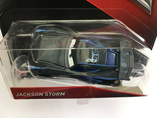 Image of DISNEY Pixar CARS 3 - JACKSON STORM 1:55 scale die cast car …