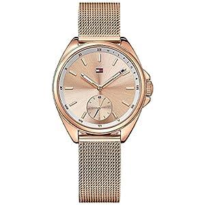 Tommy Hilfiger Damen-Uhren Analog Quarz Edelstahl 32002007