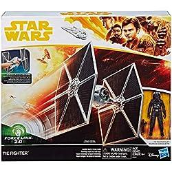 STAR WARS- Tie Fighter Figurine, E0327, Varié