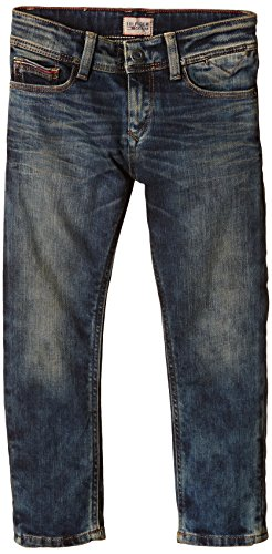 Tommy Hilfiger - Jeans Ronnie Tapered Svw, Bambino, Blu (Scales Vintage Wash 463), 12