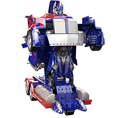 Toys Petrloy 4ghz For 2 Transforming Un Rc Télécommande Deformation Enfants Électronique Bouton Robot De Voiture Truck odBeWCrx