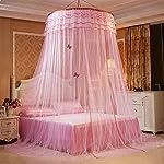 Mosquitera princesa de sueño mariposa cúpula mosquitos red cama doble viaje con un kit completo para colgar mediante GRD