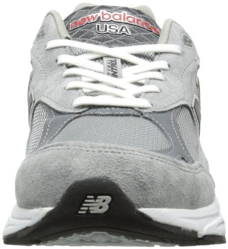 New Balance M990 Mens - Grey with White