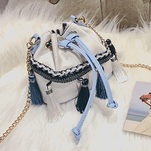 AiSi, Borsa a tracolla donna, Black (Nero) - bb-02298-02qz White