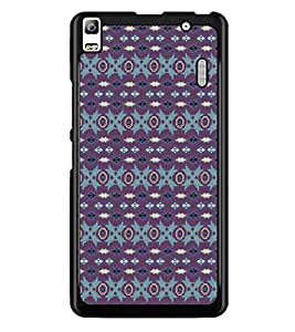 PrintDhaba Pattern D-5258 Back Case Cover for LENOVO A7000 TURBO (Multi-Coloured)