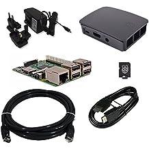 Raspberry Pi 3 Official Desktop Starter Bundle (16GB, Black)