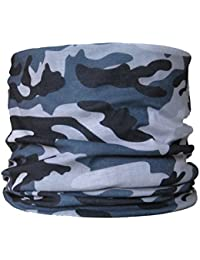 Multifunctional Headwear Grey Camouflage