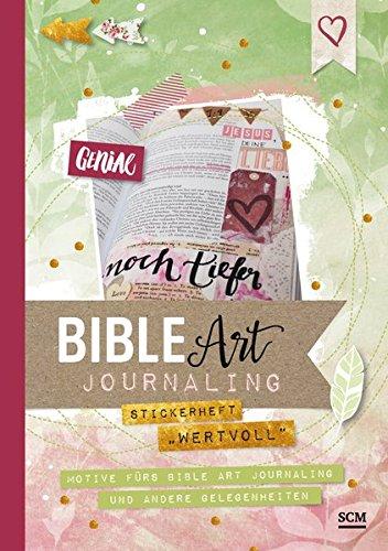 """Stickerheft """"wertvoll"""": Motive fürs Bible Art Journaling und andere Gelegenheiten"""