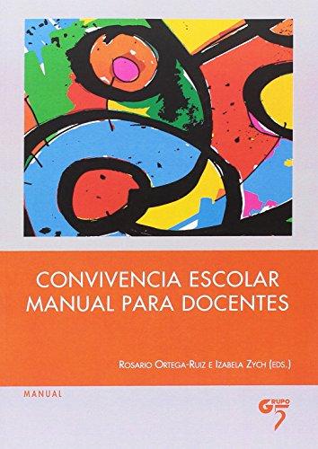 Convivencia escolar: manual para docentes