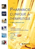 Pharmacie clinique et thérapeutique (French Edition)