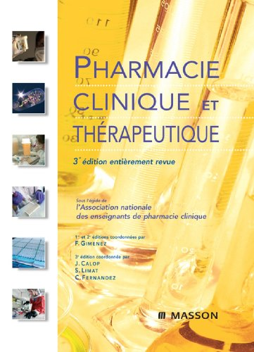 Pharmacie clinique et thrapeutique
