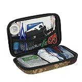 Decdeal 52PCS Water-Proof kit de primeros auxilios para el coche al aire libre casero camping de uso múltiple de emergencia médica caso de tratamiento con cremallera aprobado por la FDA