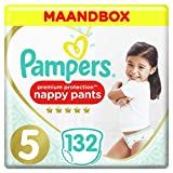 Pampers Premium Protection Pants Maat 5, 11-16kg, 132 Luierbroekjes, Maandbox