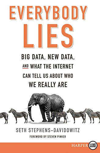 Everybody Lies LP: Big Data, New Data, and What the Internet Reveals about Who We Really Are