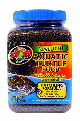 Zoo Med Natural Aquatic Turtle Food 226g, Aufzuchtfutter für Wasserschildkröten (Natural Aquatic Food Turtle)