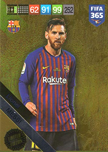 PANINI ADRENALYN XL FIFA 365 2019 - Lionel Messi Limited Edition Card