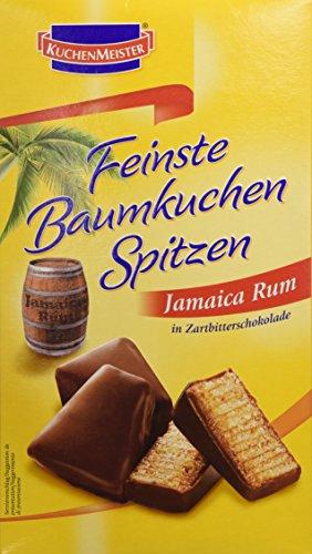 Kuchenmeister Feinste Baumkuchenspitzen Jamaica Rum, 14er Pack (14 x 125 g)