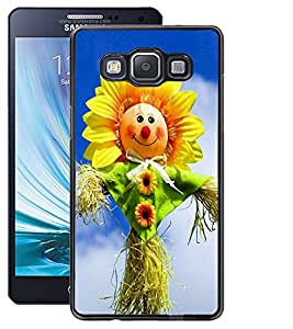 ColourCraft Funny SunFlower Design Back Case Cover for SAMSUNG GALAXY A5 A500F