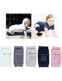Almohadillas para rodillas, protectores y calentadores, para bebés