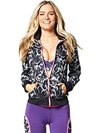 Zumba Fitness Damen Wt Outerwear High Beam Mesh Zip Up Jacket