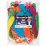 30 LARGE PUNCH BALLOONS PARTY BAG FILLERS GOODS CHILDRENS LOOT BAGS TOYS