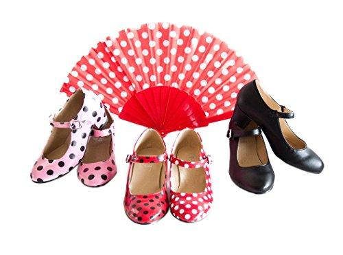 La Senorita Chaussures flamenco espagnol - Noir Noir