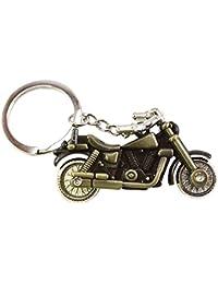RJM Royal Bullet Bike Keychains Keyrings - Copper | Key Ring For Car Bike Home Keys | Key Chain For Kids Men Women...