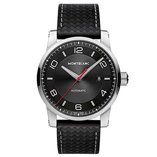 5 - Montblanc Watches Reloj Análogo clásico para Hombre de Automático con Correa en Nailon 113877