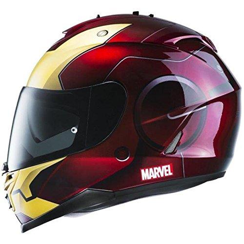Hjc is 17 iron man casque intégral rouge et gold