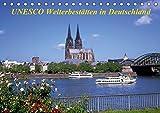 UNESCO Welterbestätten in Deutschland (Tischkalender 2019 DIN A5 quer): Zeugnisse kulturhistorischer Bauten und Naturstätten (Monatskalender, 14 Seiten ) (CALVENDO Orte)