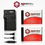 Pack 2 baterías LP-E17, LPE 17 + cargador Europa / US + adaptador mechero para CANON EOS 200D, EOS 750D, EOS 760D, EOS 770D, EOS 77D, EOS 800D, EOS KISS X8I, EOS M3, EOS M5, EOS M6, EOS REBEL SL2, EOS REBEL T6I, EOS REBEL T6S. - MP EXTRA®