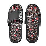 Anself Akupressur Massage Slipper Fußmassagegerät Hausschuhe Schuhe für Männer Frauen