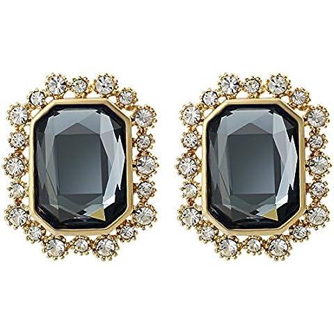 ZWX L'Europa e orecchini di qualità moda esagerata/ elegante decorativi orecchini/ Orecchini/ gioielli montaggio-C