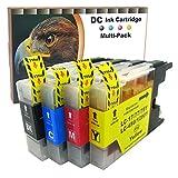 D&C 20er Set (B/C/M/Y) Druckerpatronen kompatibel für Brother LC-1280 LC1280 XL LC17/77/79 LC450 MFC-J5910DW,MFC-J6510W,MFC-J6710DW,MFC-J6910DW,MFC-J430W,MFC-J625W,DCP-J925DW,MFC-J835DW,DCP-J725DW