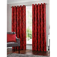 Story at Home Window Curtain, Red, 118cm X 152cm, Wnr4031