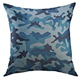 Best Better Homes and Gardens Bath Pillows - Mugod Pillow Case Navy Camoflage Sea Water Camouflage Review
