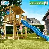 Jungle Gym Spielturm CHALET mit Rutsche - Blau