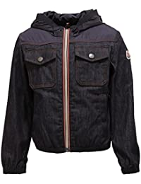 MONCLER 8662T Giacca antivento Chrono blu Jacket Kid