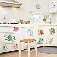 Pokemon bedroom stickers Original Design Wall Stickers Wall Decals