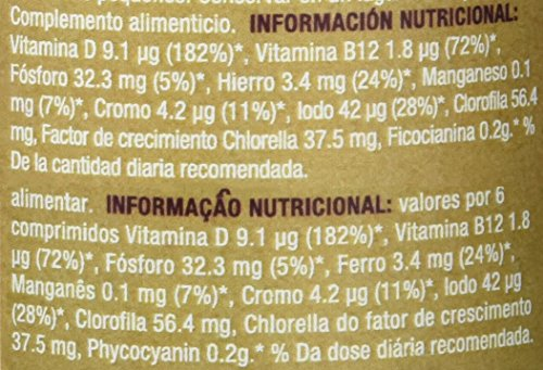 La Finestra Sul Cielo Clórela and Spirulina in Pills - 500 gr