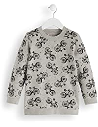 RED WAGON Jungen Sweatshirt Bicyle Print Sweater