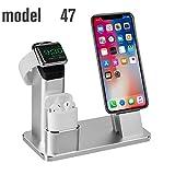 TOFURT Ladestation Halterung aus Aluminium für Apple Watch iPhone iPad Airpods, Apple Watch Stand...