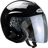 Motorradhelm Nexo Jethelm Travel Schwarz XL