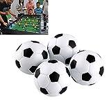 BinaryABC Table Football Balls ,Black/White Ball 32mm 10pcs